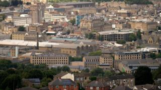 View of Huddersfield