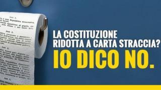 #IoDicoNo campaign poster
