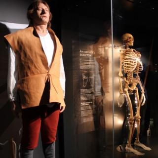 Archer model and skeleton