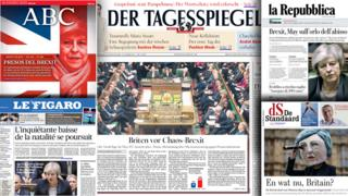Newspaper front papers