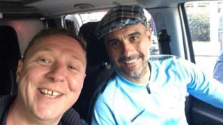Mark Hilton and Pep Guardiola