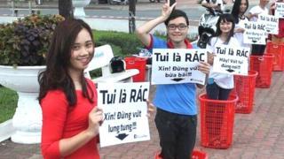 Các bạn trẻ tham gia phong trào của Mast hồi 2015