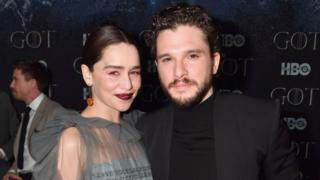 """Emilia Clarke and Kit Harington attend the """"Game Of Thrones"""" Season 8 NY Premiere After Party on April 3, 2019"""