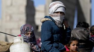 خانواده های داعش