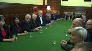 Meeting of shadow cabinet