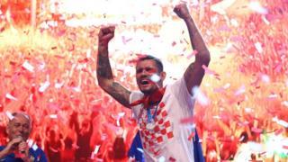 Celebrations in Croatia following team's return