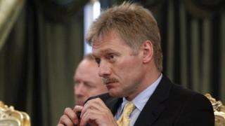 Kremlin spokesman Dmitry Peskov (file image)