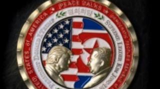 '트럼프-김정은' 북미 정상회담 기념주화