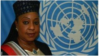 Fatma Samba Diof Samoura alikuwa akizungumza katika kikao cha kimataifa cha soka mjini Manchester
