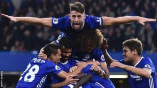Chelsea ishobora guhimbaza intsinzi ya gatanu mu mahiganwa 13 ya Premier League ni yatsinda West Brom uno munsi