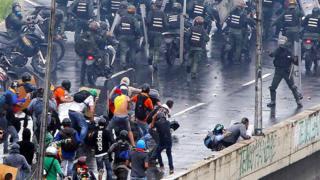 Venezuela gösteriler