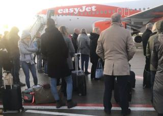 Passenger on wrong EasyJet flight causes Liverpool Airport security scare