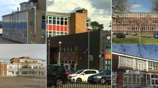 The five secondary schools: Cantonian in Fairwater; Cathays; Cardiff High in Cyncoed, Fitzalan in Leckwith and Willows in Tremorfa