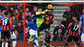 Bournemouth and Everton fought out an exciting 3-3 draw in the Premier League last November
