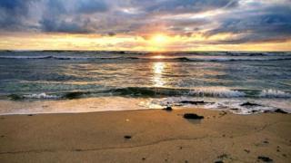 Lewis beach at Barvas