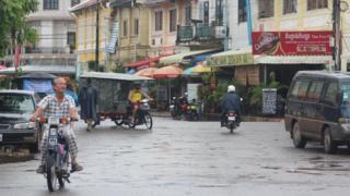 A street in Kampot