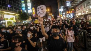 Демонстрации протеста продолжаются. Их участники выдвинули пять требований