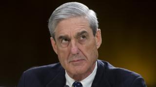 US special counsel Robert Mueller, seen here on 19 June 2018