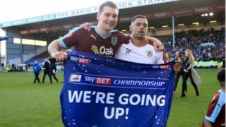 L'équipe de Burnley était classée 17ème la saison dernière.