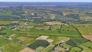 Summerley Airfield from the air