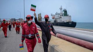 نفتکش ایرانی ونزوئلا
