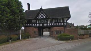 Thornton Manor gate
