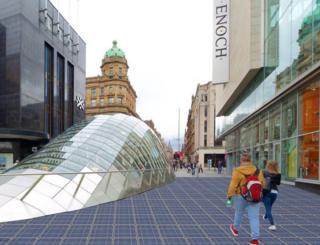 Solar pavement