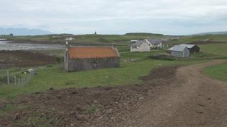 Sanday's new road