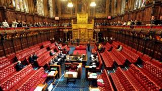 Comitê de Apelações da Câmara dos Lordes durante o último julgamento