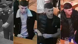 Left to Right: Suspect 12, Suspect 18, Suspect 10 and Suspect 19