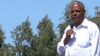 Ethiopian opposition leader Merara Gudina