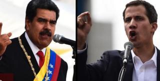 Maduro və Guaidó