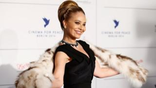 Ornella Muti arrives for the Cinema For Peace 2014