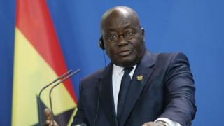 Shugaba Nana Akufo Addo na kasar Ghana
