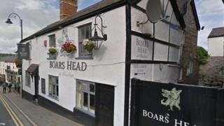 Boars Head pub Ruthin