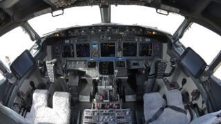 ห้องนักบินเครื่องโบอิ้ง