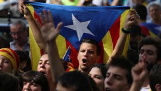 Акция в Барселоне