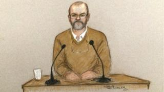 Carl Wood, one of the Hatton Garden heist accused appearing at Woolwich Crown Court,