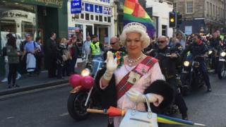 Crowds turn out for Pride Edinburgh