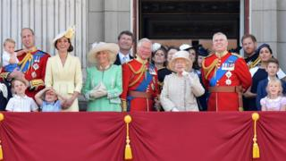 June 8, 2019. - The ceremony of Trooping the Colour