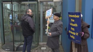 sabbatarian protesters