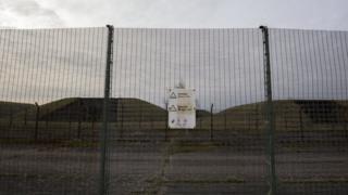 """Британская военно-воздушная база Greenham Common, на которой размещены баллистические ракеты """"земля-воздух"""""""