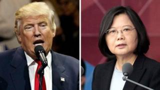 Donald Trump n'uwatorewe kuyobora Taiwan, Tsai Ing-wen.