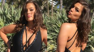 Ashley Graham promotes the Summer 2018 swimwear collection for Swimsuits for All