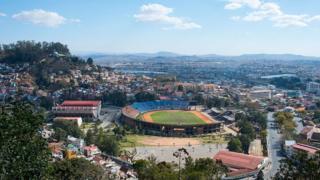 Une vue du stade municipal de Madagascar