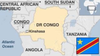 Ramani ya DR Congo