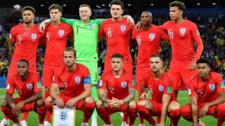 England first 11