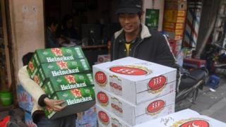 Heineken và Sabeco nhòm ngó thị phần của nhau