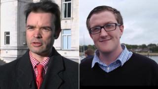 Warwick Payne (left) and Josh Payne
