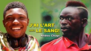 Artiste autodidacte togolais au Sénégal